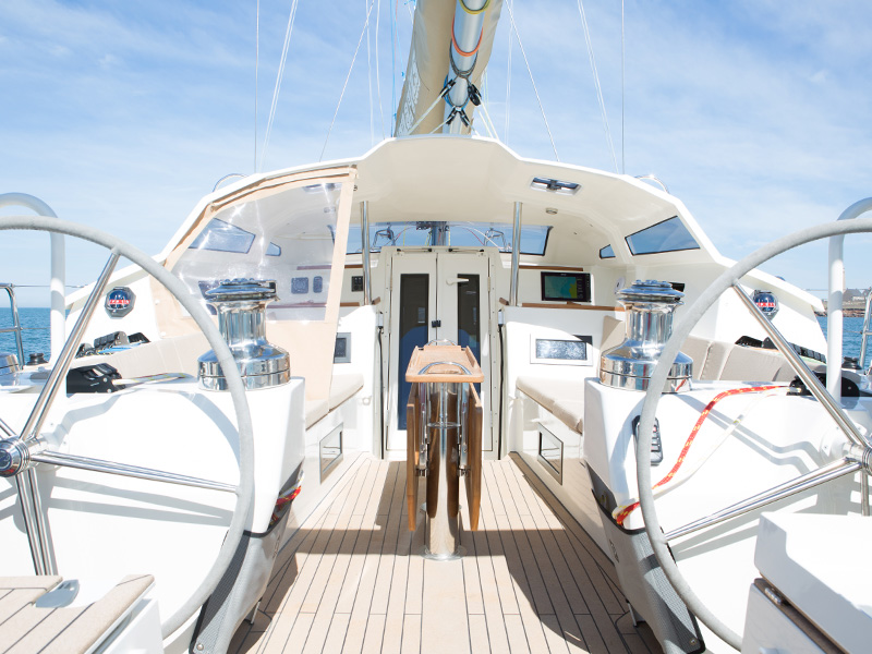 Almodovar Diplopie Segelboot Deck Sommer M C O Sailing