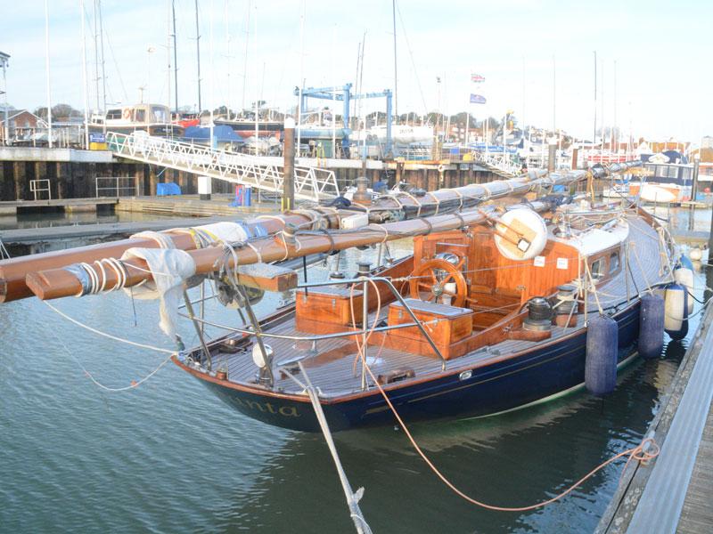 Hafen Altes Segelboot Mco Sailing Academy