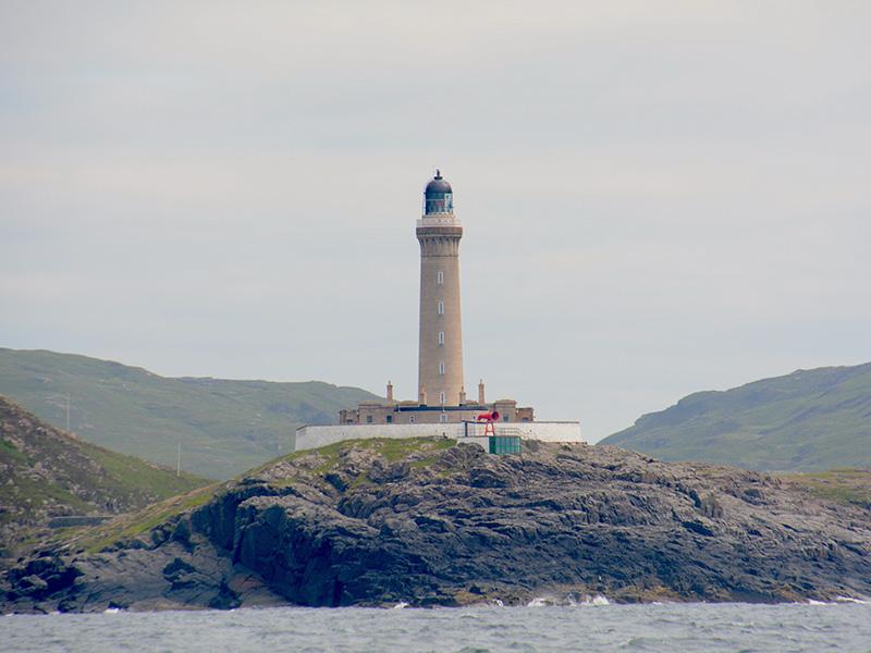 Leuchtturm Fels Mco Sailing