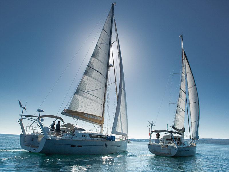 Almodovar Diplopie Segeln Sonnenstrahlen Mco Sailing